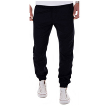 2017 New Design Casual Men Pants Cotton Slim Pencil Pants Fashion And Leisure Khaki Black Pants Men Joggers Pantalon Homme XXXL