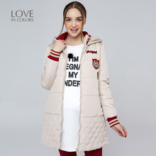 New Fashion Pregnancy Coats Women Hooded Solid Winter Warm Thick Soft Jacket for Maternity Women Outerwear