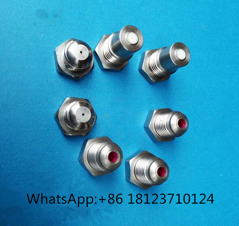 Steady Stainless Steel Ruby Orifice Paper Trimming Nozzle,solid Stream Nozzle,ceramic Water Jet Nozzle,paper Trimming Nozzle Great Varieties Back To Search Resultshome & Garden Sprayers