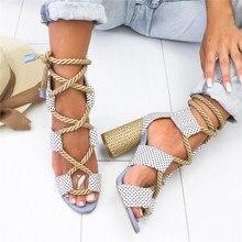 Gladiator Espadrilles Women Heel Sandals Shoe