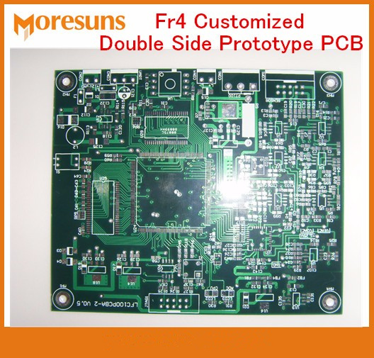 Fast Ship FR4 Customized Double Side Prototype PCB Printed Circuit Board Manufacture and Assembly Small Production runs pcba ...