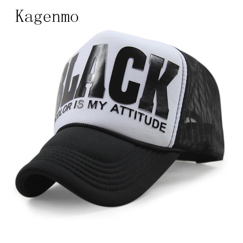 Kagenmo primavera tapas hombre Sun gorra de béisbol de verano otoño moda  sombrero 6 color 1 unids nuevo llega 3019ccc9535