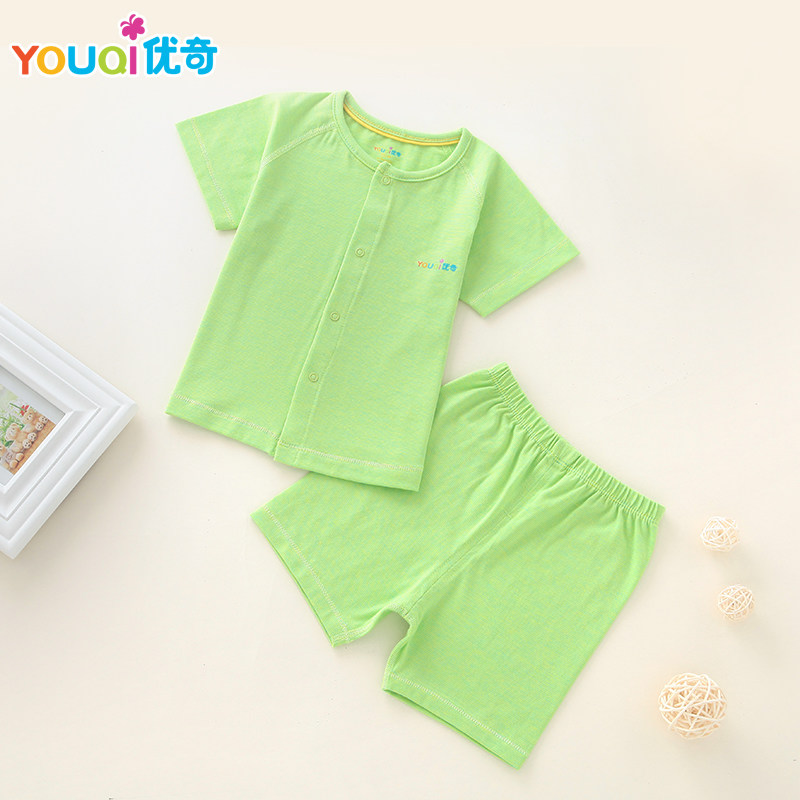 a465347f284d YOUQI Baby Boy Clothes Summer Baby Girl Clothing Set Elastic 3 6 Months T  shirt Pants Suit Short Sleeve Cute brand Costumes-in Clothing Sets from  Mother ...
