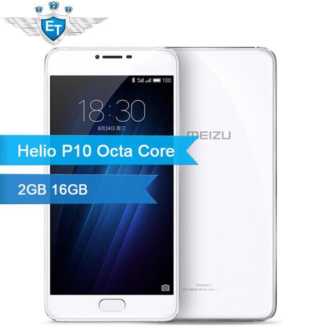 Оригинальный meizu u20 смартфон 5.5 ''5d 1920 х 1080 mtk helio p10 mt6755m окта основные 2 ГБ оперативной памяти 16 ГБ rom 13.0mp камера отпечатков пальцев