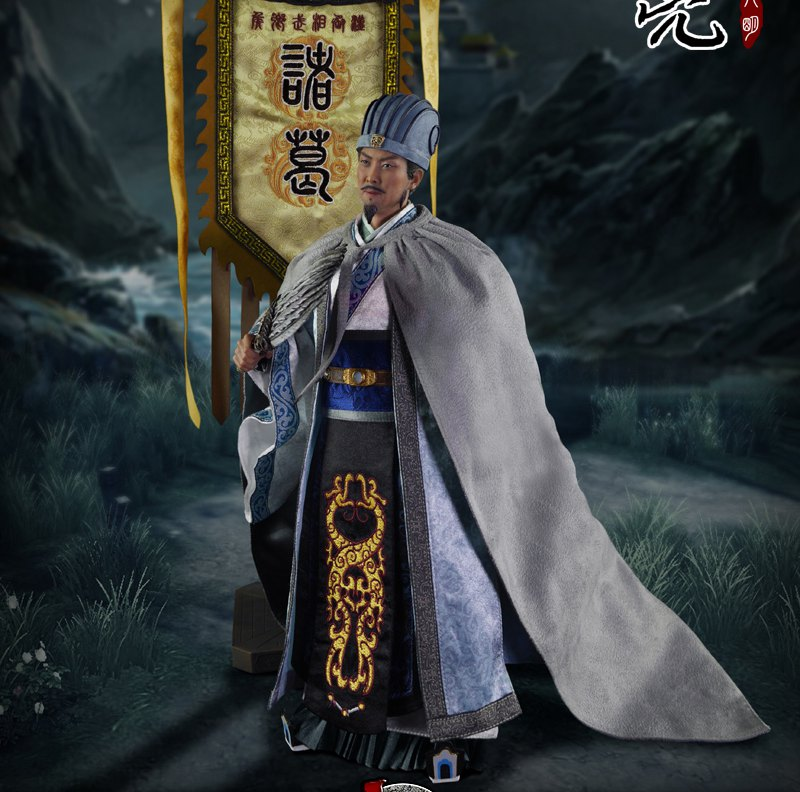 1 6 scale ancient weapon sword model with stand collection toy for 12 inches action figure 1/6 scale Ancient China figure Three Kingdoms Zhuge Liang A.K.A Kongming 12 Action figure doll Collectible Model plastic toy