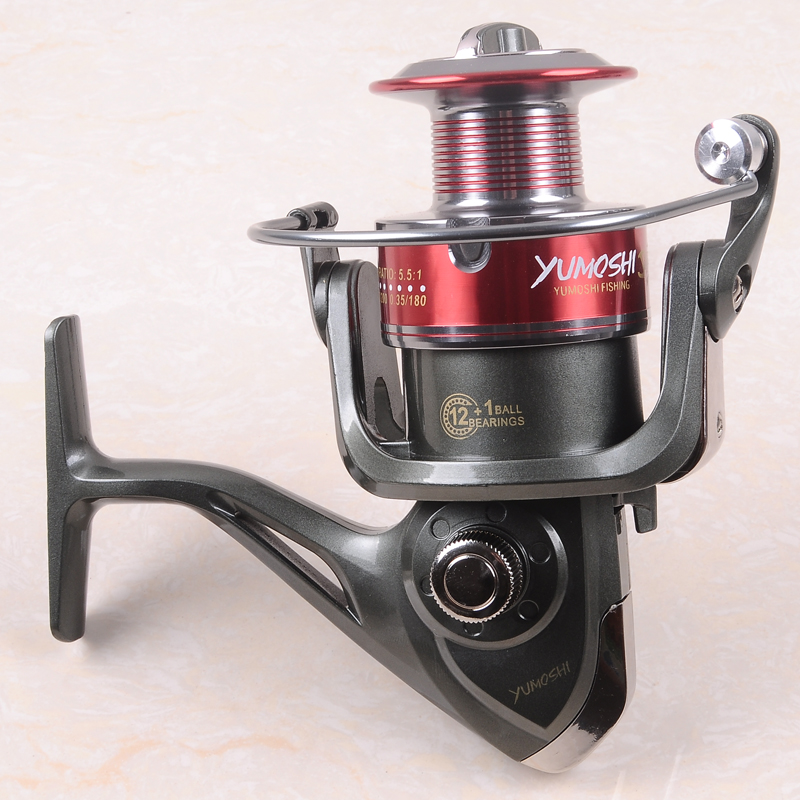 90%OFF Hynix 2017New Arrival Hot  12+1BB 1000-7000 Series High Quality Spinning Fishing Reel Fish Wheel Freshwater/Saltwater цена 2017