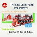 Siku 1: 87 escala/diecast metal modelo/juguete de simulación: plataforma de camiones y tractores new holland/para los niños de regalo o colección