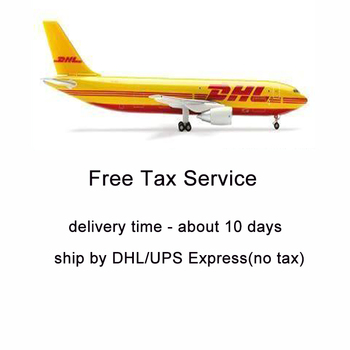 Shipment by DHL/UPS Prepaid Tariff Tax Duty Service, For EU Countries Tax Exemption Service, about 7-12days delivery time image
