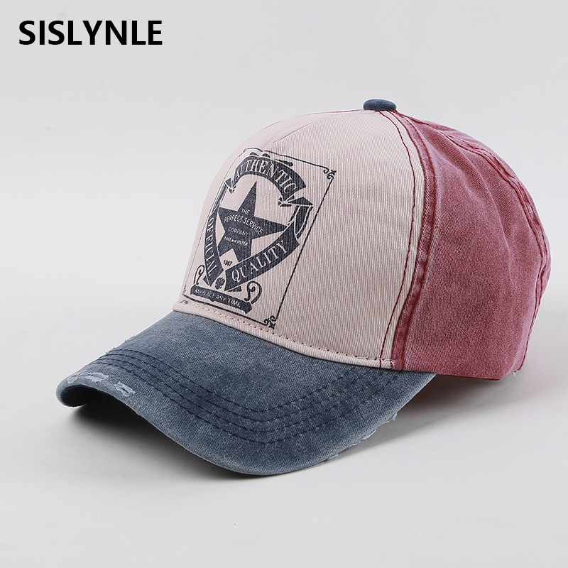 SISLYNLE New Baseball Cap 6 colors Letter Printing Male and female Common Adjustable Sunhat Hip hop Fashion Snapback Hat cn rubr fashion embroidery letter casual baseball cap outdoor climbing hip hop cap 6 colors cotton unisex spring summer hat