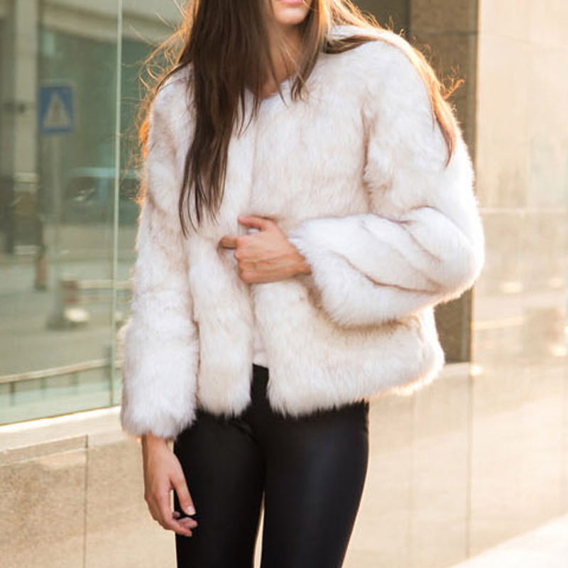 faux fur coat Picture - More Detailed Picture about Women Winter ...
