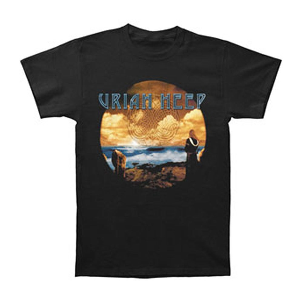 New Uriah Heep Sonic Origami Hard Rock Band Men/'s Black T-Shirt Size S to 3XL