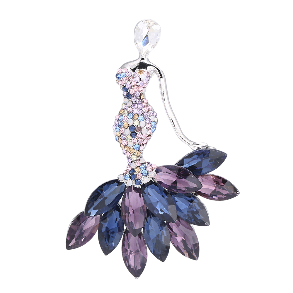 Jewelry Beautiful Fairy Brooch Full Crystal Sex Girl Brooches Pins For Women 1632 ...