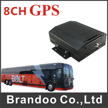 8CH Vehicle DVR 960H For Bus Taxi Truck GPS DVR