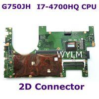 G750JH MAIN_BD/I7 4700HQ 2D TBT I7 4700HQ процессор 2D разъем Mainbord для ASUS G750 J750JH Материнская плата ноутбука 100% тестирование