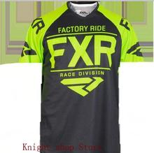 2019 hot FXR new bicycle mtb jersey mens quick-drying downhill motocross