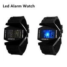 Luchador Led Digital Relojes de Alarma Reloj de Los Hombres Del Deporte de Los Niños Niños Reloj de pulsera Fecha de Silicona Luminosa Militar Niñas Reloj de Pulsera