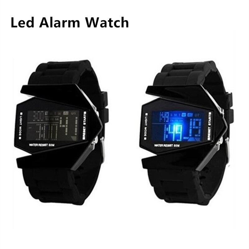 Moda LED Digital unisex hombres mujeres relojes correa del silicón del  deporte los niños de alarma Relojes Para Niños Niñas casual cuarzo reloj  SAAT 562d2b7a00c8
