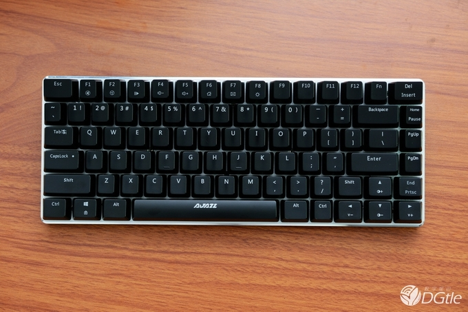 Ajazz AK33 82 Keys Metal Case Zorro Switches Nkrollver Gaming Mechanical Keyboard