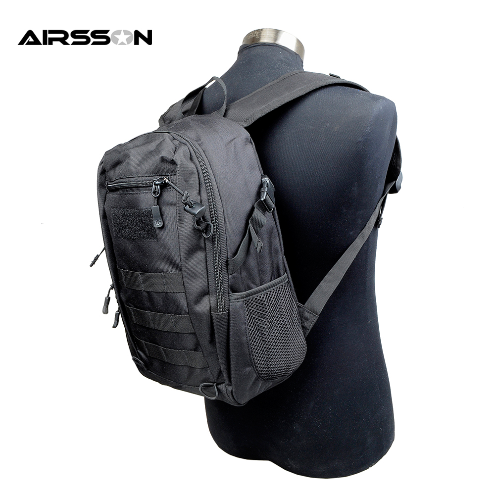 12L Tactical EDC Backpack Bag Pack Militar Molle System Waterproof 900D Camping Hiking Travel Outdoor Sports Storage Rucksack