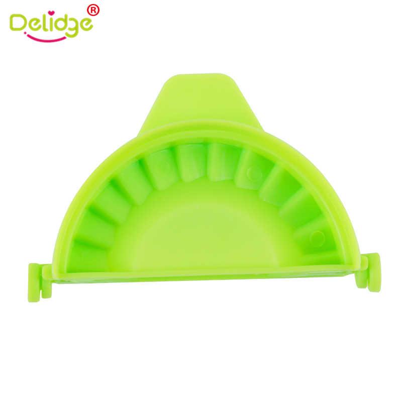 Delidge 1 قطعة جهاز صناعة زلابية قوالب للمأكولات البلاستيك حزمة 7.5 سنتيمتر العجين الصحافة زلابية فطيرة رافيولي قوالب حلويات زلابية قوالب