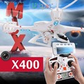 MJX X400 RC Quadcopter with Camera HD C4016 C4005 FPV Wifi Real Time Remote Control Helicopter UFO Drone No GPS RTF VS H107D H9D