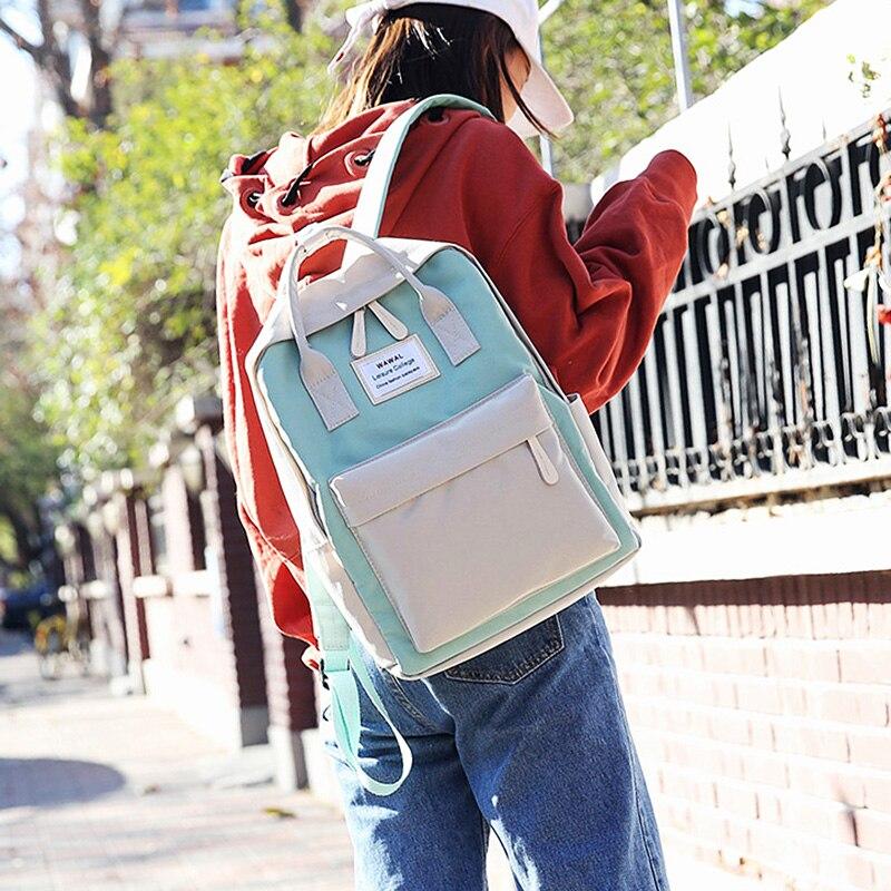 Купить с кэшбэком Backpack Women Laptop Backpack for 15 inch Large School Backpacks Bag Mochila Mujer Feminine Female Travel Rucksack Bagpack Bags