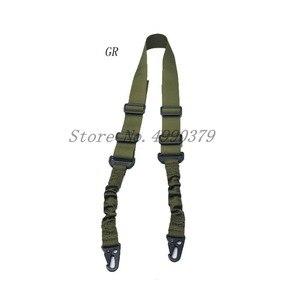 Image 2 - Mayitr הצבאי Heavy Duty אקדח חגורת רצועת טקטי 2 נקודות ניילון בנג י רובה קלע חיצוני אקדח אבזרים