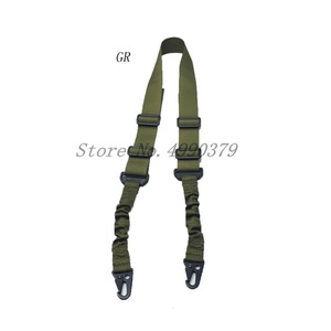 Image 2 - Mayitr Military Heavy Duty Gun Belt Strap Tactical 2 Points Nylon Bungee Rifle Sling Outdoor Gun Accessories