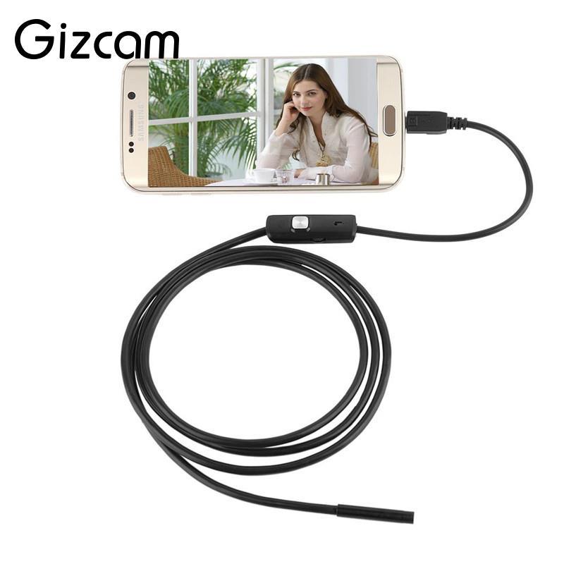 Gizcam Mini USB Endoskop IP67 Vattentät Borescope Micro Camera Snake - Kamera och foto - Foto 3