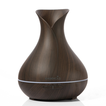 dark wood 400ml ultrasonic aroma diffuser