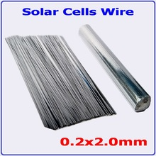 484feet 300mm precut PV Ribbon 0.2*2.0mm Tabbing Wire for 156mm solar cells soldering – Tin Silver Copper Solar Cell Wire