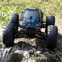 2.4Ghz 42km/h RC Truck RC Toy S911 2WD Remote Control Car High Speed Remote Control Off Road Dirt Big Wheel Car Toys For Boys