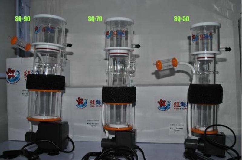 Marine aquarium corail récif écumeur 8 w/9 w/15 w approprié pour 30-150L fish tank aiguille brosse faire bulle