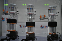 marine aquarium coral reef protein skimmer 8w/9w/15w suitable for 30 150L fish tank needle brush make bubble