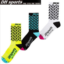 Cycling Socks (3 Pairs/lot) DH SPORTS/DH06 Nylon Men Sports Socks Basketball Outdoor Hiking Socks 2 pairs men s breathable outdoor socks hiking sports socks climbing socks s015