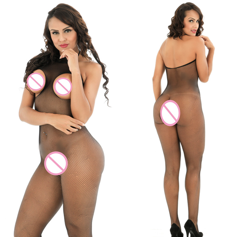 Full Body Slips for women black full body slips open crotch hot intimates sexy slips intimates women sexy lingerie transparent 5