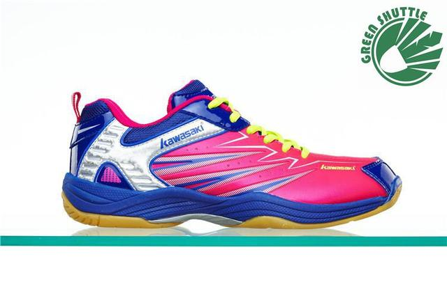 2017 New  Professional Rubber  Badminton Shoes For Men And Women Sports Shoes Breathable K-052 053 065 066