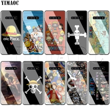 YIMAOC One Piece Glass Case for Samsung Galaxy S7 S8 S9 S10 Plus Note 8 9 10 A50 A20 A10 A70