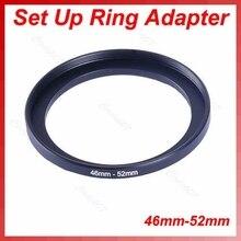 OOTDTY металлический 46 мм-52 мм шаг вверх объектив фильтр кольцо 46-52 мм 46 до 52 шаговый адаптер