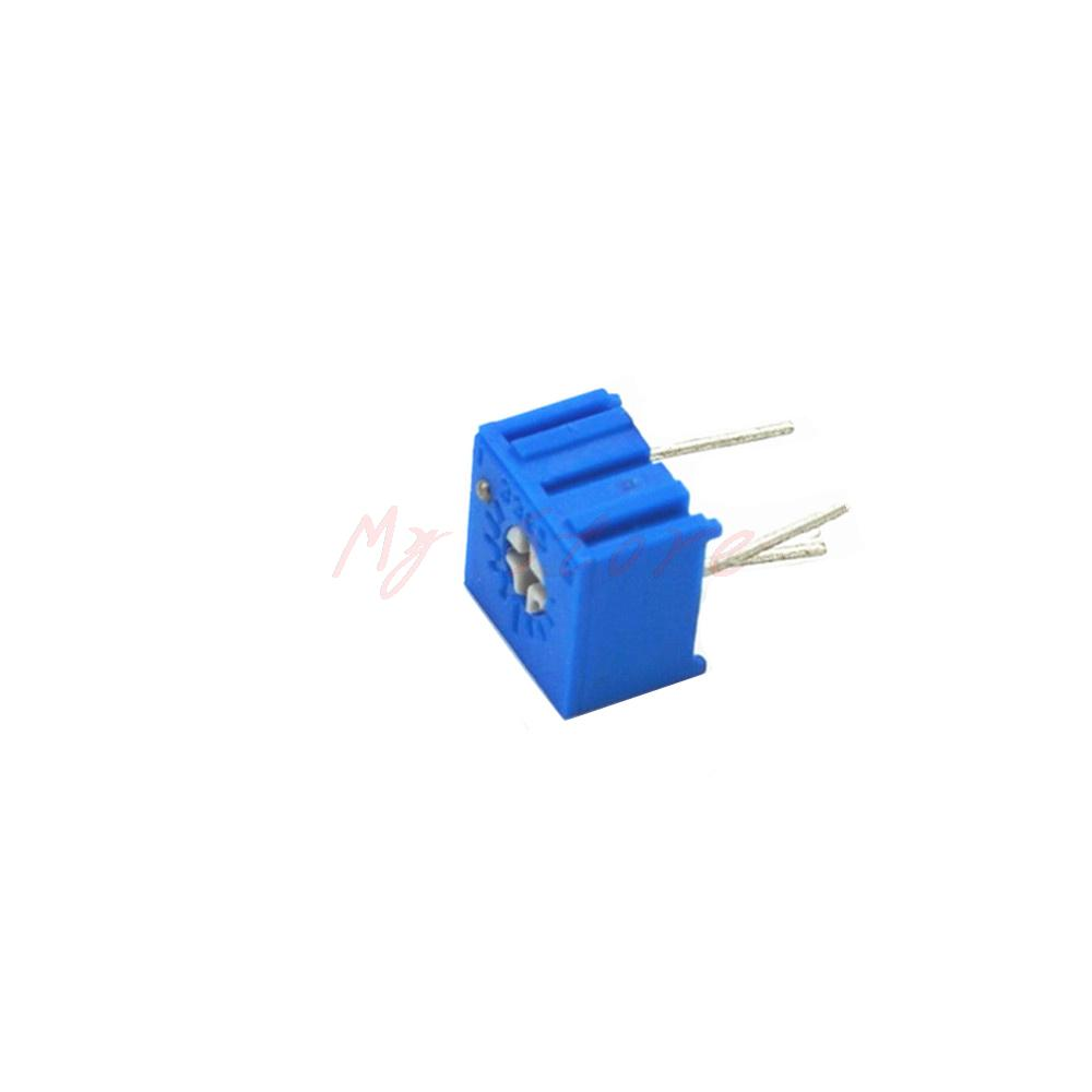 500k Ohm 3362p Trim Pot Precision Trimmer Potentiometer Variable Resistor Circuit 504 20pcs