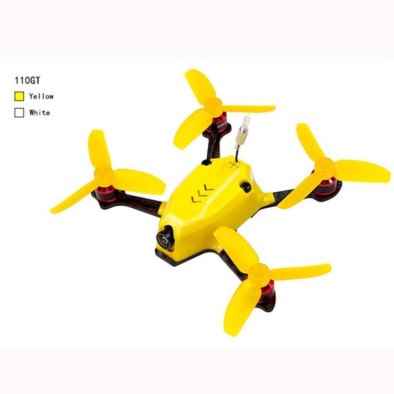 110GT PNP мини Drone Quadcopter FPV гонщик с 800TVL Камера 1105 8500KV двигателя DSM/2 приемника ...