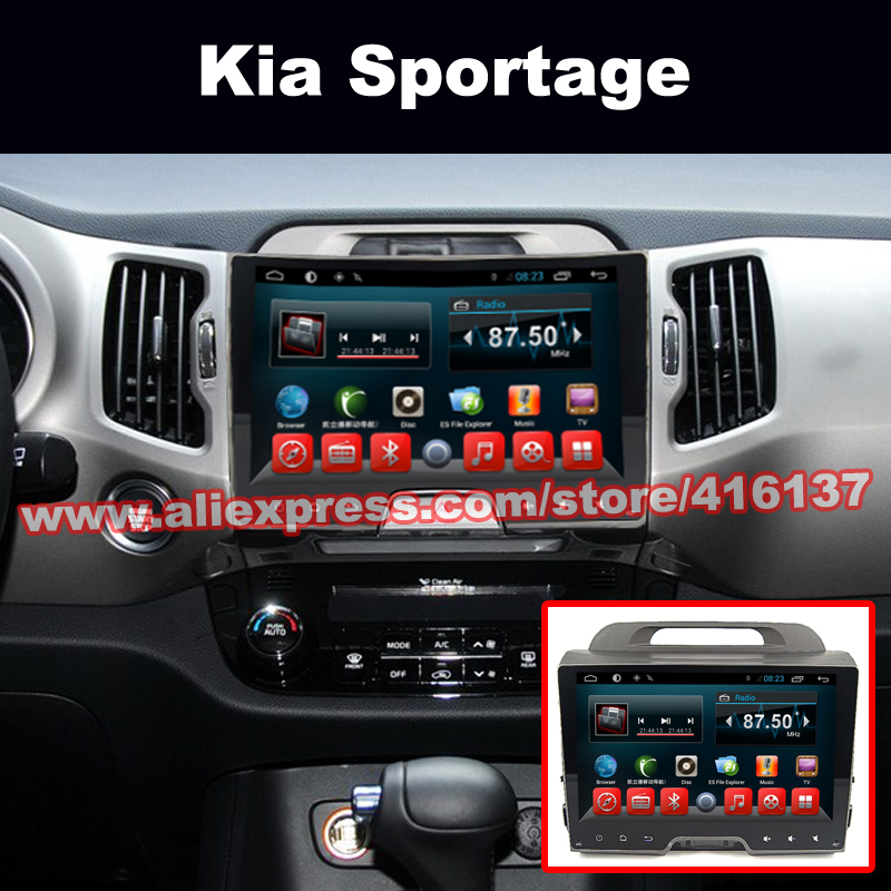 2 Din 9 Inch Full Hd Touch Screen For Kia Sportage R 2013 With Gps