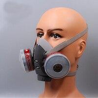 Chimique Gaz Crépuscule Respirateur Filtre Cutton Charbon Actif Anti-brouillard Masque Brume Pm2.5 Pesticides Peinture Pulvérisation Masques