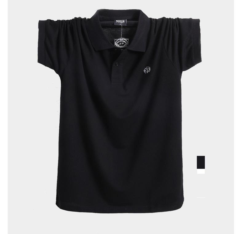 2018 Summer Men Polo Shirt Brand Clothing Pure Cotton Men Business Casual Male Polo Shirt Short Sleeve Breathable Polo Shirt 5XL 11