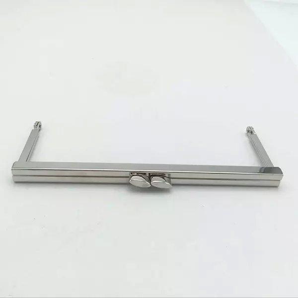 6 3/4 x 2.5 inches (17 x 6.5cm) - Silver Clutch Purse Frame