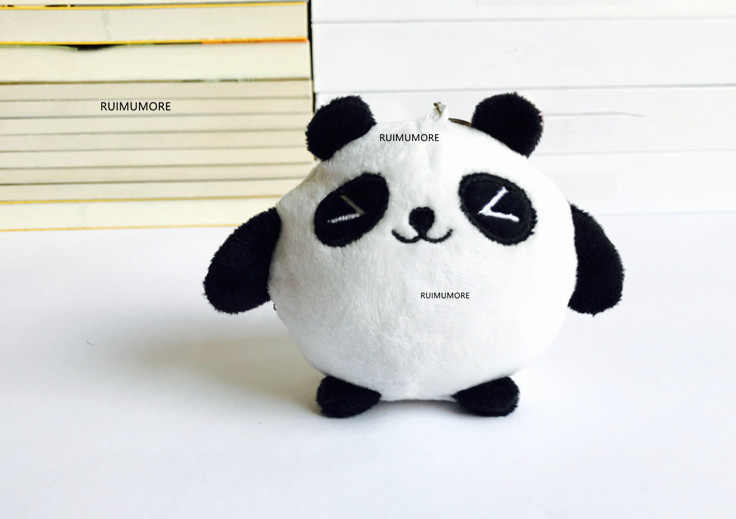 1 Peça, Super HOT Kawaii 8 CM Panda De Pelúcia BONECA de BRINQUEDO; chave Presente cadeia de Panda De Pelúcia Brinquedo de Pelúcia, animal Brinquedos de Pelúcia