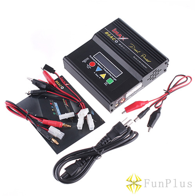 Lipo Battery IMAX B6 Lipro Charging + LiPo Li-Ion LiFe NiMH RC Battery Balance Charger EU US UK AU + Set Tamiya Line