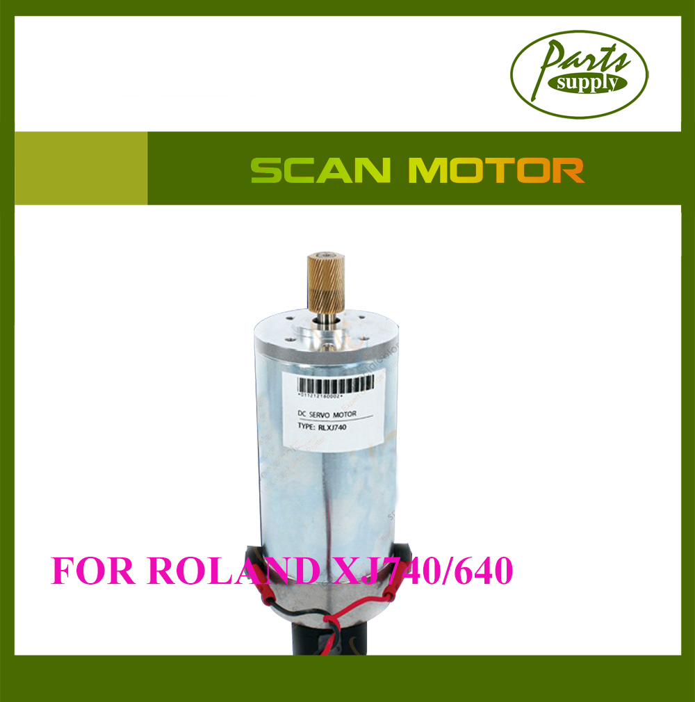 Factory Promotion!!! DX4 Printer Roland XJ640 Servo Motor XJ-740 Scan motor One-Year Warranty roland xf 640 wiper holder 1000010211
