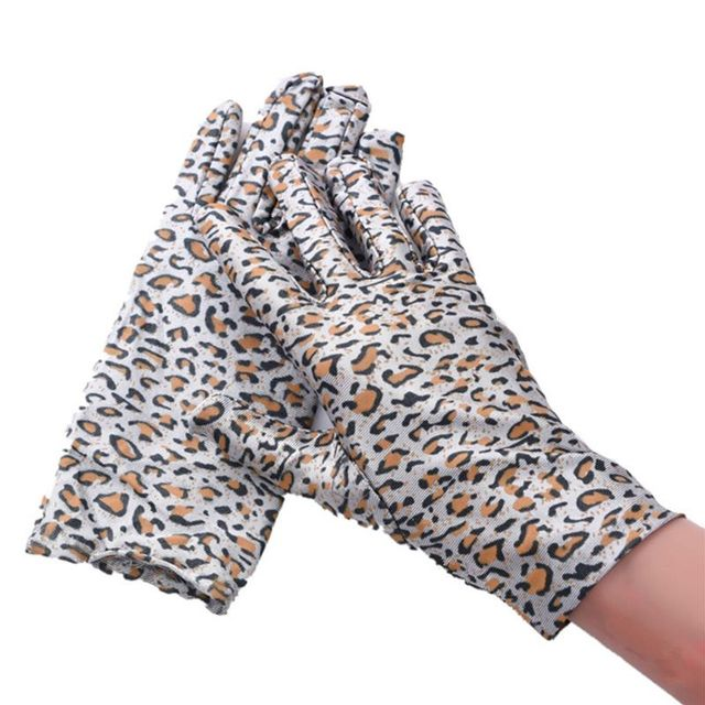 Women Leopard Print Gloves...