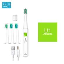 Electronic Toothbrush Lansung u1 Ultrasonic Toothbrush Electric Tooth Brush electric toothbrush Cepillo Dental Oral Hygiene 3